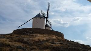 Molino de viento en consuegra - divulgadores del misterio