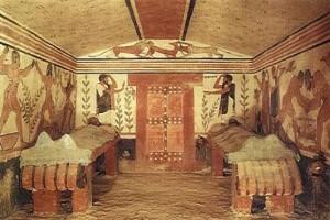 tumba griega