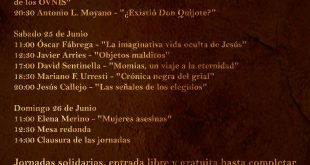 IV Jornadas Misterio en Jaen