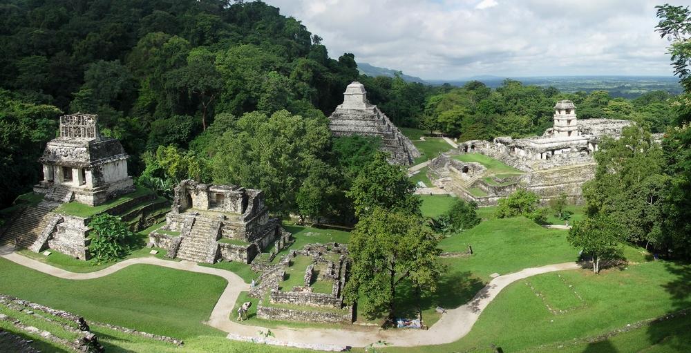 Sítio arqueológico de Palenque (fonte: divulgadoresdelmisterio)