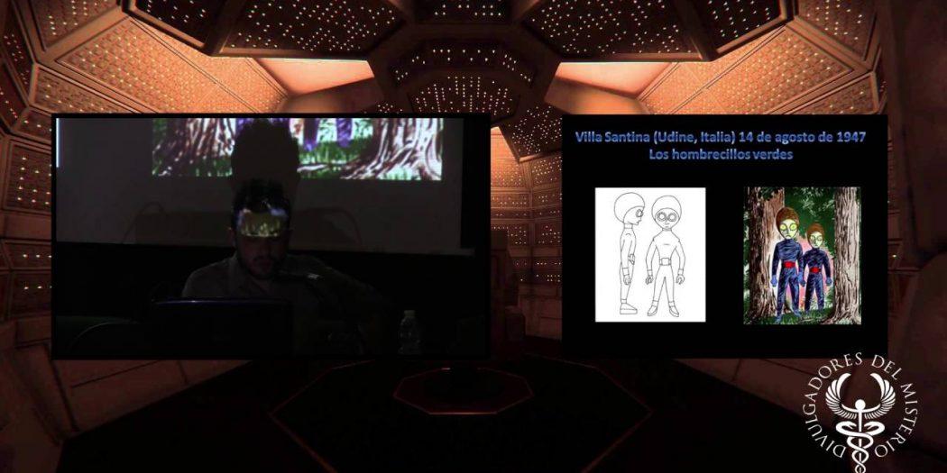 Anatomia de un ser de las estrellas por David Mulé