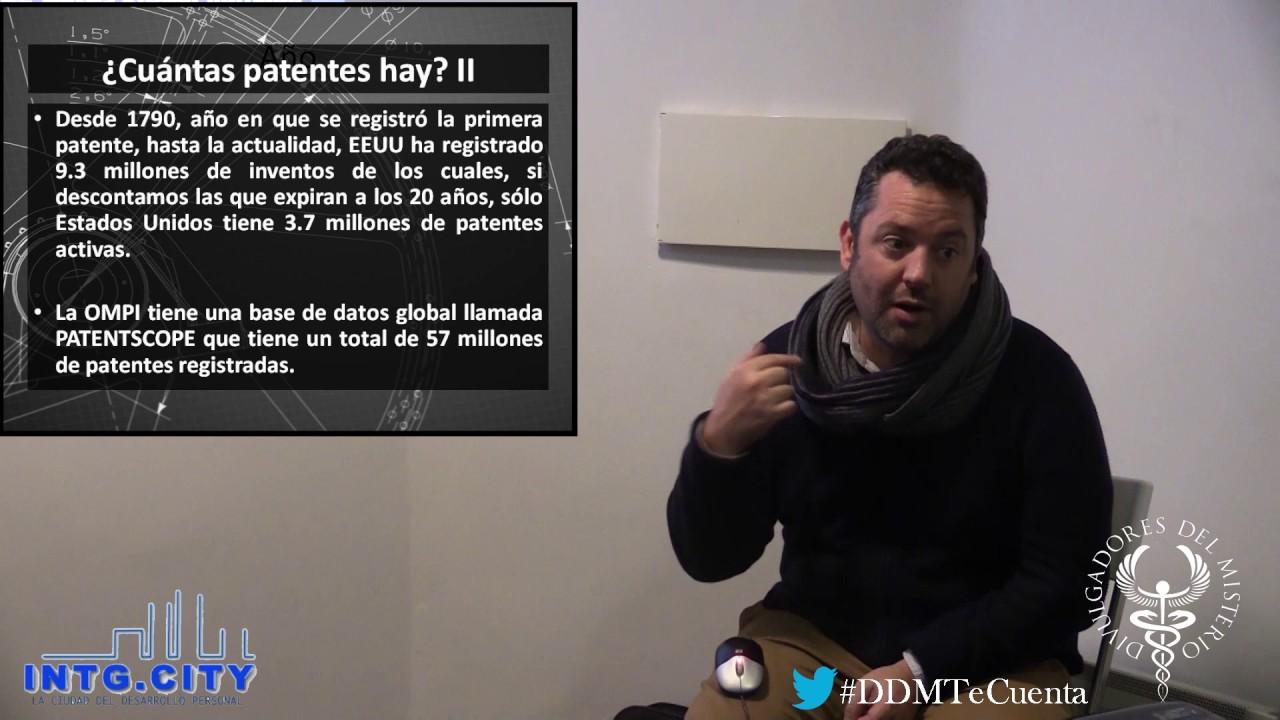 Patentes que te haran creer en conspiraciones por Miguel Angel Ruiz