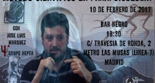 Charlas Bar Negro