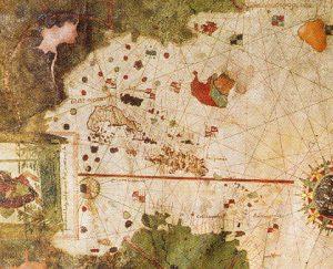 año 1500 mapa juan de la cosa